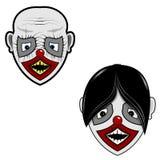 Scary face Stock Photos