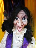 Scary Fortune Teller. Photo of scary fortune teller during halloween Stock Image