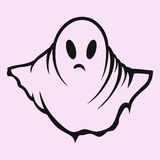 Scary ghost, halloween Royalty Free Stock Images