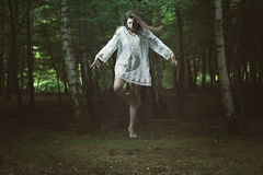 Free Scary Girl With Dark Power Stock Images - 43957074