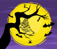Scary Halloween. Halloween theme - vector file include Royalty Free Stock Images