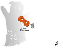 Scary halloween background Royalty Free Stock Images
