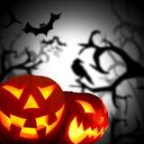 Scary Halloween background Stock Photos