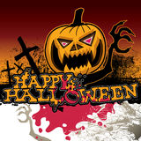 Scary halloween banner. Royalty Free Stock Photography