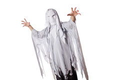 Scary halloween concept with monster Royalty Free Stock Image