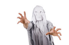 Scary halloween concept with monster Royalty Free Stock Photo