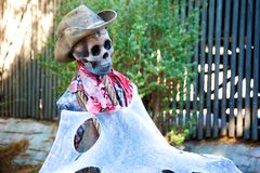 Scary Halloween decoration Royalty Free Stock Photography