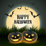 Scary halloween design Stock Photography