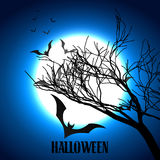 Scary halloween design Royalty Free Stock Photography
