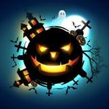 Scary halloween design Royalty Free Stock Photo
