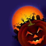 Scary halloween design Stock Images