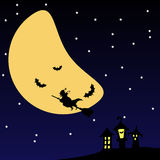 Scary Halloween Night Stock Photo