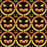 Scary halloween pattern Royalty Free Stock Photo