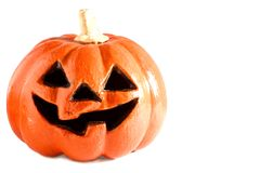 Scary Halloween Pumpkin Stock Photo