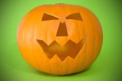 Scary halloween pumpkin Stock Photos