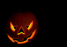 Scary halloween pumpkin Stock Photography