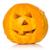 Scary Halloween pumpkin Royalty Free Stock Photography