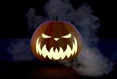 Scary Halloween Pumpkin Royalty Free Stock Image