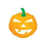Halloween pumpkin. Scary halloween pumpkin- vector illustation Stock Photos