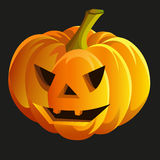Scary halloween pumpkin. Vector eps10 Royalty Free Stock Image