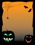 Scary Halloween Scene Stock Photo