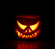 Scary Haloween Pumpkin Royalty Free Stock Image