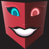 Scary happy mask Royalty Free Stock Image