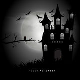 Scary haunted house for Halloween Party celebration. Stock Photos