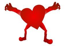 Scary  heart Royalty Free Stock Photo