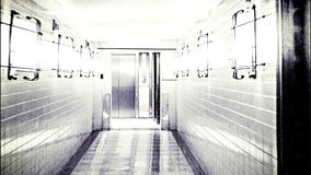 Scary Horror Corridor, Abstract Background