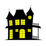 Scary house Stock Images
