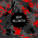 Scary Invitation for Halloween Party. Stock Images