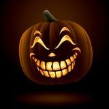 Scary Jack O Lantern Stock Image
