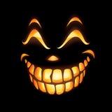 Scary Jack O Lantern Stock Photography