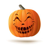 Scary Jack O Lantern Royalty Free Stock Photo