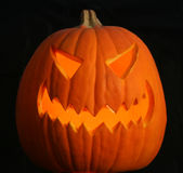 A Scary Jack-o-lantern Royalty Free Stock Image