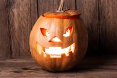 Scary jack-o-lantern Royalty Free Stock Images