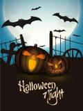 Scary Jack O Lantern for Halloween Party celebration. Stock Photos