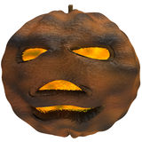 Scary Jack O Lantern halloween pumpkin Royalty Free Stock Image
