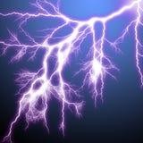 Scary lightning royalty free illustration