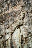 Scary limestone rock wall Stock Image