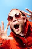 Scary man Royalty Free Stock Photo