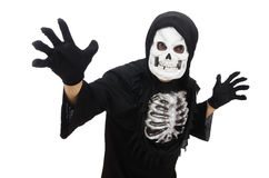 Scary man in halloween Royalty Free Stock Photography