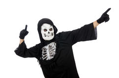 Scary man in halloween Stock Images