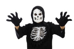 Scary man in halloween Stock Image