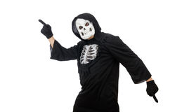 Scary man in halloween Royalty Free Stock Image