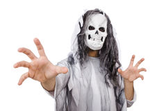 Scary man in halloween Royalty Free Stock Images