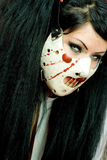 Scary Mask Stock Images