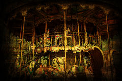 Scary merry go round Royalty Free Stock Image