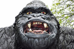 Gorilla scary model of  Stock Image
